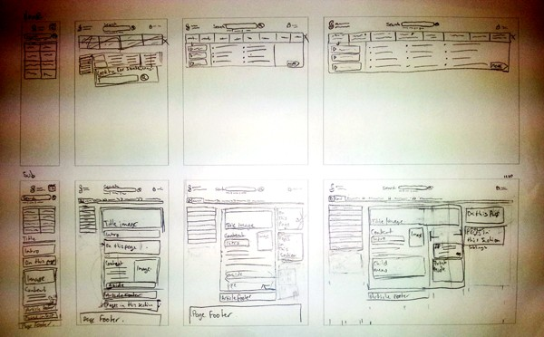 GSCC Wireframes